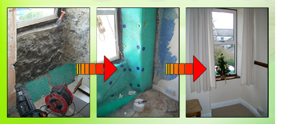 Penetrating damp problems